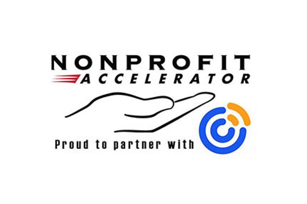 Nonprofit Accelerator - proud to partner with Constant Contact